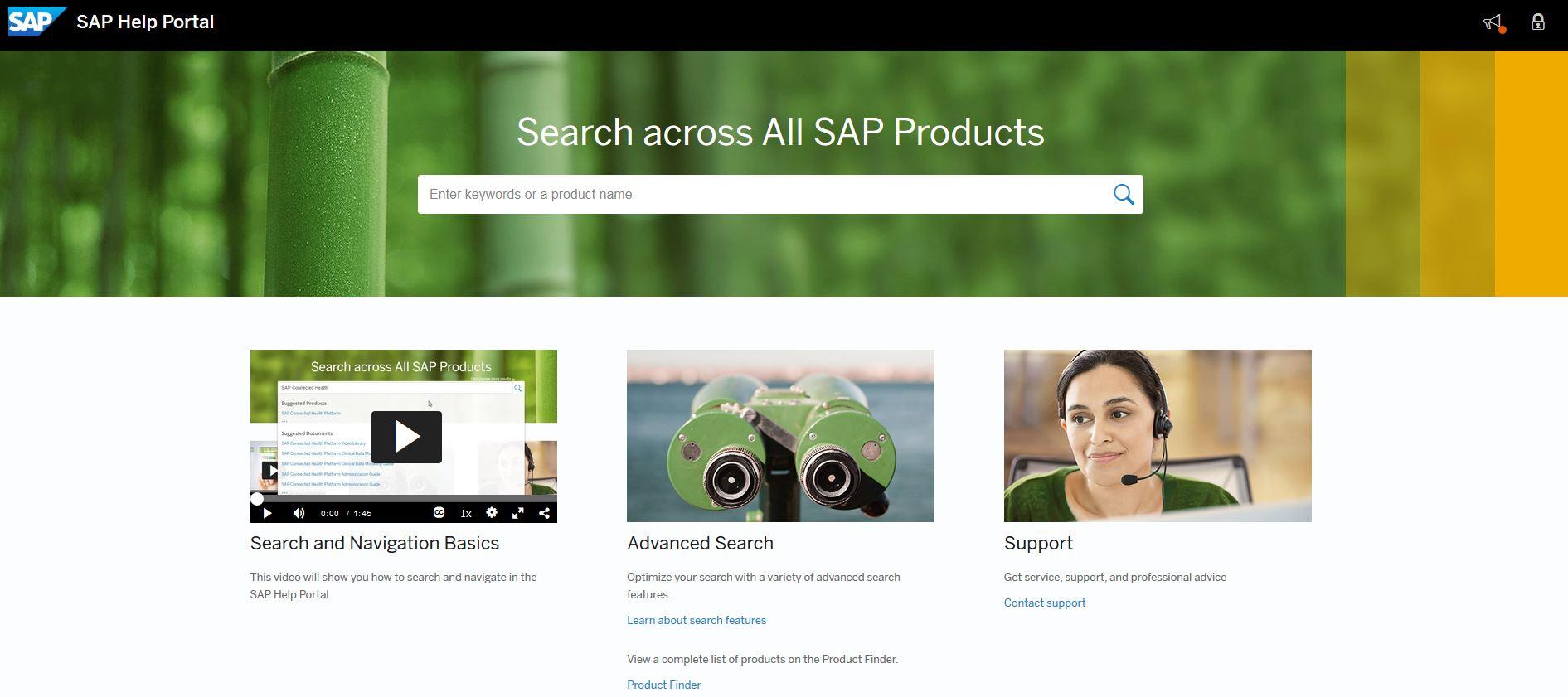 sap help portal